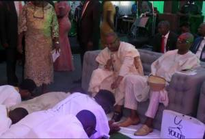 More Photos from Governor Ayo Fayose's Daughter's Royal Wedding