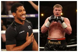 Anthony Joshua's Family Organises Special Prayer For Him Ahead Of Povetkin Fight