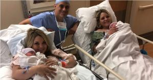 Inspirational Story of Twin Sisters Who Birthed Their Sons on the Same Day