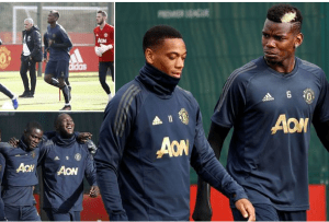 Champions League; Manchester United Set To Be Missing Six Stars For Juventus Clash