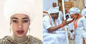 Ooni of Ife's Ex-wife Olori Wuraola, Congratulates Him and His New Queen