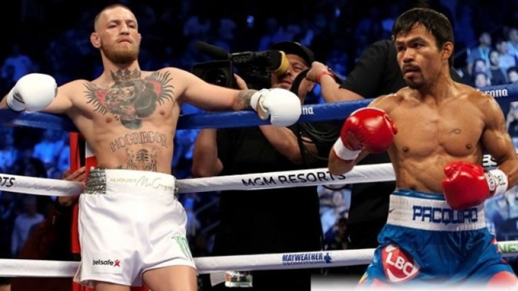 Conor McGregor and Manny Pacquiao, Conor McGregor and Manny Pacquiao fight