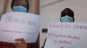 Coronavirus: Watch As Nigerians Trapped In Wuhan China Beg To Be Brought Back Home