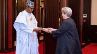 Mary Beth Leonard and Buhari