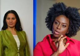 Anne Giwa-Amu and Chimamanda Ngozi Adichie