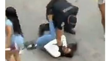 Miami Police Officer Assault video