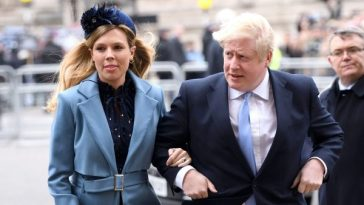 Boris Johnson's fiancee Carrie Symonds