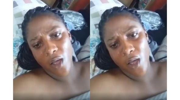 Video Of Nigerian Lady Begging For Sexual Intercourse Amid Coronavirus Lockdown Goes Viral