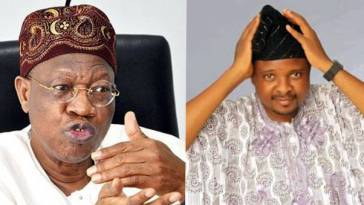 Lai Mohammed And Rotimi Jolayemi
