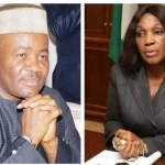 Akpabio reacts to Joy Nunieh