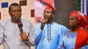 Evangelist Bamiloye and Pastor Adeboye
