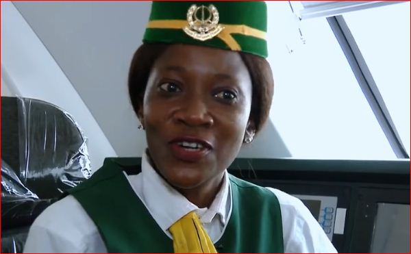 Abiola Fatima, Meet Abiola Fatima, First Female Train Driver In Nigeria