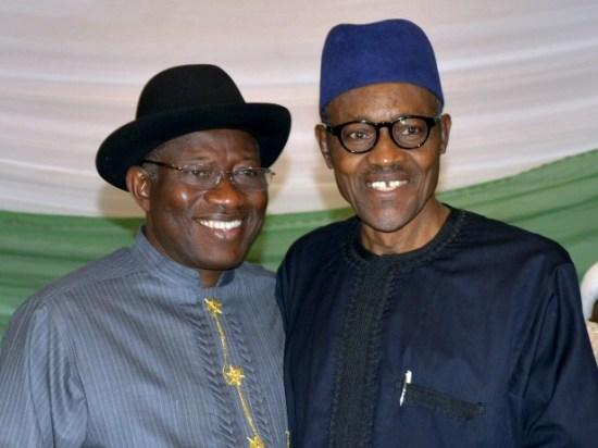 Jonathan and Buhari - Presidency: Buhari won't save Jonathan if ex-president is corrupt-kokolevel