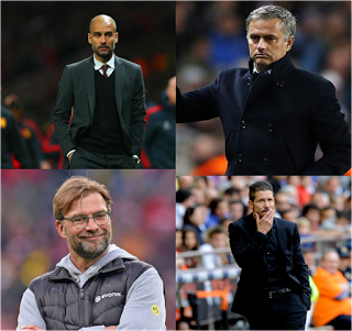 What to expect from the Presence of Mourinho, Klopp, Guardiola and Simeone in the Premier League.