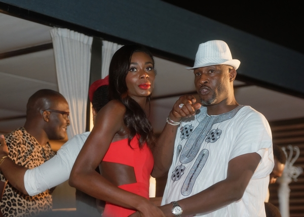 New York based Nigerian international model Amina and make up artist Bayo Hastrup
