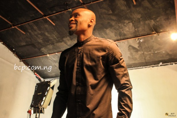 "Behind the scene pictures of Capital FEMI's ""TUMBO"" video."