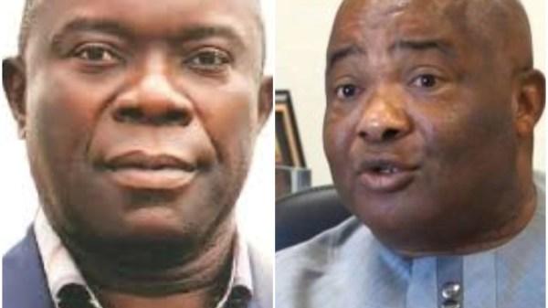 Chief tony chukwu and Governor Hope Uzodinma