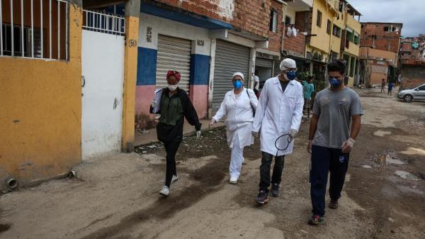 Coronavirus cases rising in Brazil