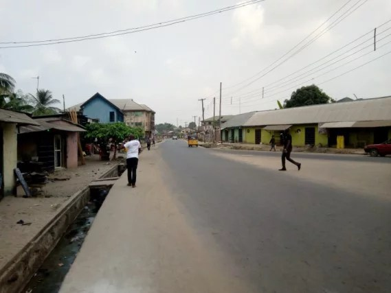 Completed Road projects in Aba