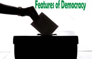 Features of Democracy; Types of Democracy and Functions