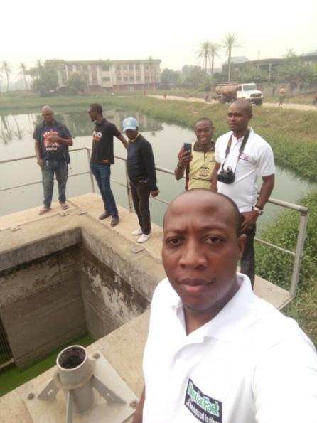 Abia OMPAN on Ife Obara Pond Site