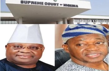 Osun State Supreme Court Judgement Validates the Election of Oyetola