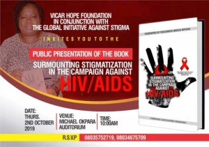 Vicar Hope Book Presentation on HIV Stigmatization at Micheal Okpara Auditorium Umuahia