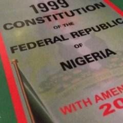 Features of the 1999 Constitution in Nigeria