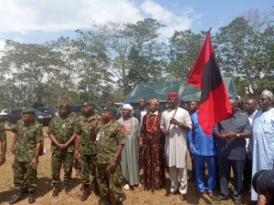 Flagging off Ceremony of Exercise Atilogwu Udo I in Abia State