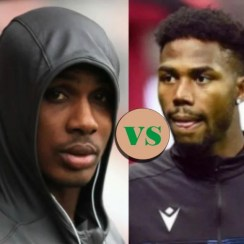 Two Ajegunle Footballers Clash in Europa League Tie