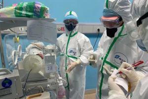 Coronavirus cases and health workers