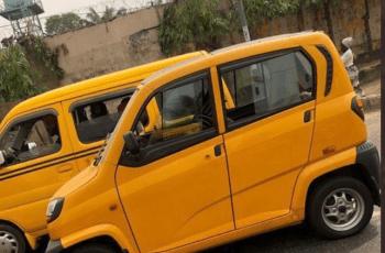 Lagos State Mini Bus Used to Replace Keke and Okada
