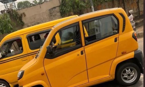 Lagos State Mini Bus Used to Replace Keke and Okada