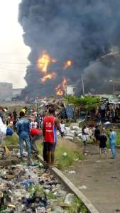 Pipeline Explosion at Abule-Ado in Amuwo Odofin Local Government Area of Lagos State