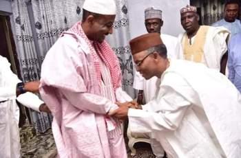 El Rufai Visits Sanusi Lamido Sanusi, The Dethroned Emir of Kano