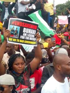 End SARS protesters in Abia state - Pic2
