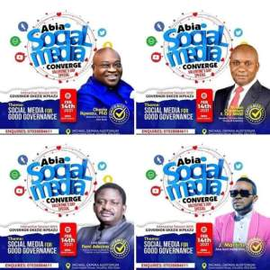 Abia Social Media Converge Host and Guest Speakers