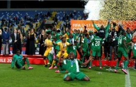Nigeria's Golden Eaglets:  First to win U-17 World Cup for 5 times