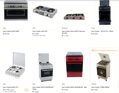 Jumia Gas Cookers