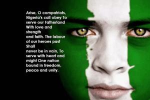 nigerian national anthem