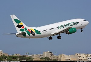 Defunct Air Nigeria aircraft
