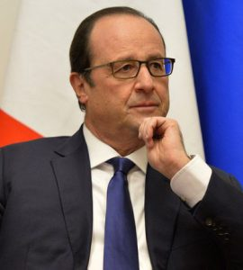 French President, Francois Hollande