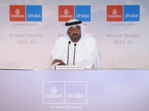 Chairman and Chief Executive, Emirates Airline and Group, s    His Highness (H.H.) Sheikh Ahmed bin Saeed Al Maktoum