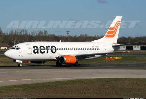 Aero Contractors Boeing 737-300 Registration YU-ANJ