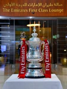 Emirates FA Cup First Class Lounge