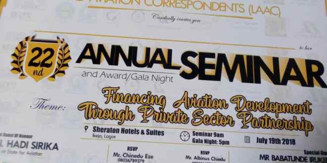 Image result for 22nd Annual Seminar & Awards of the League of Airport and Aviation Correspondents (LAAC