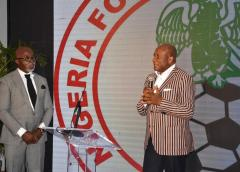Air Peace boss remarkable speech of patriotism inspired Eagles to victory against Cape Verde -NFF President