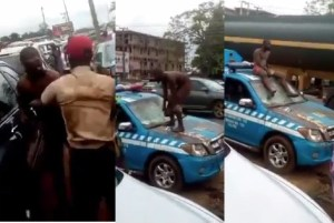 #FRSC Boss to #Oyetola: Your administration has done excellently well in #infrastructure sector