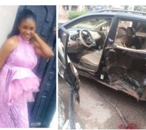 #Heartbreaking! Mom killed, 17-month-old baby badly Fractured as Police Chase 'Yahoo boy' in Benin