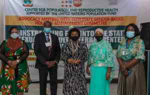 #EkitiNewsToday: #Fayemi's Wife reiterates government's commitment to curb Gender Based-Violence. Cc: #Ekiti @FirstGbv @MirabelCentreNG @GGENYC @PaulineKTallen @FMWA_ng